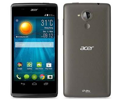 Spesifikasi dan Harga Acer Liquid Z500, Smartphone Quad Core 1.3 GHz Kamera 8 MP