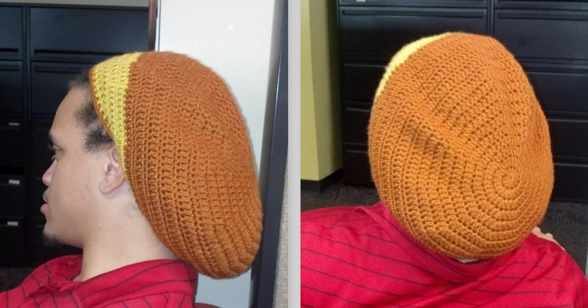 Indecisively Chic: Crochet Rasta Hat