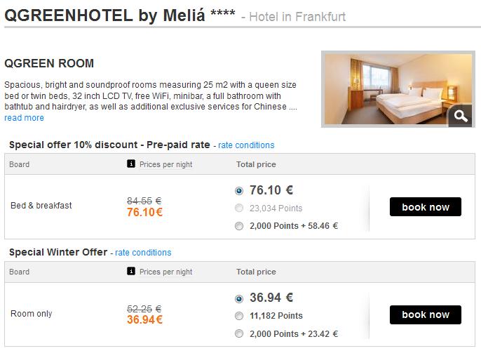 QGREENHOTEL by Meliá Rewards Frankfurt