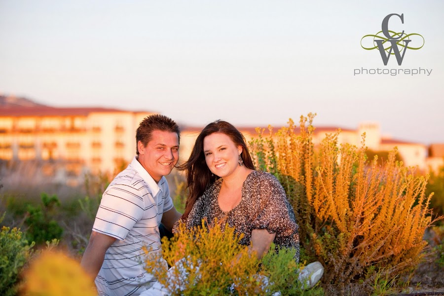engagement portrait, Terranea Resort Rancho Palos Verdes
