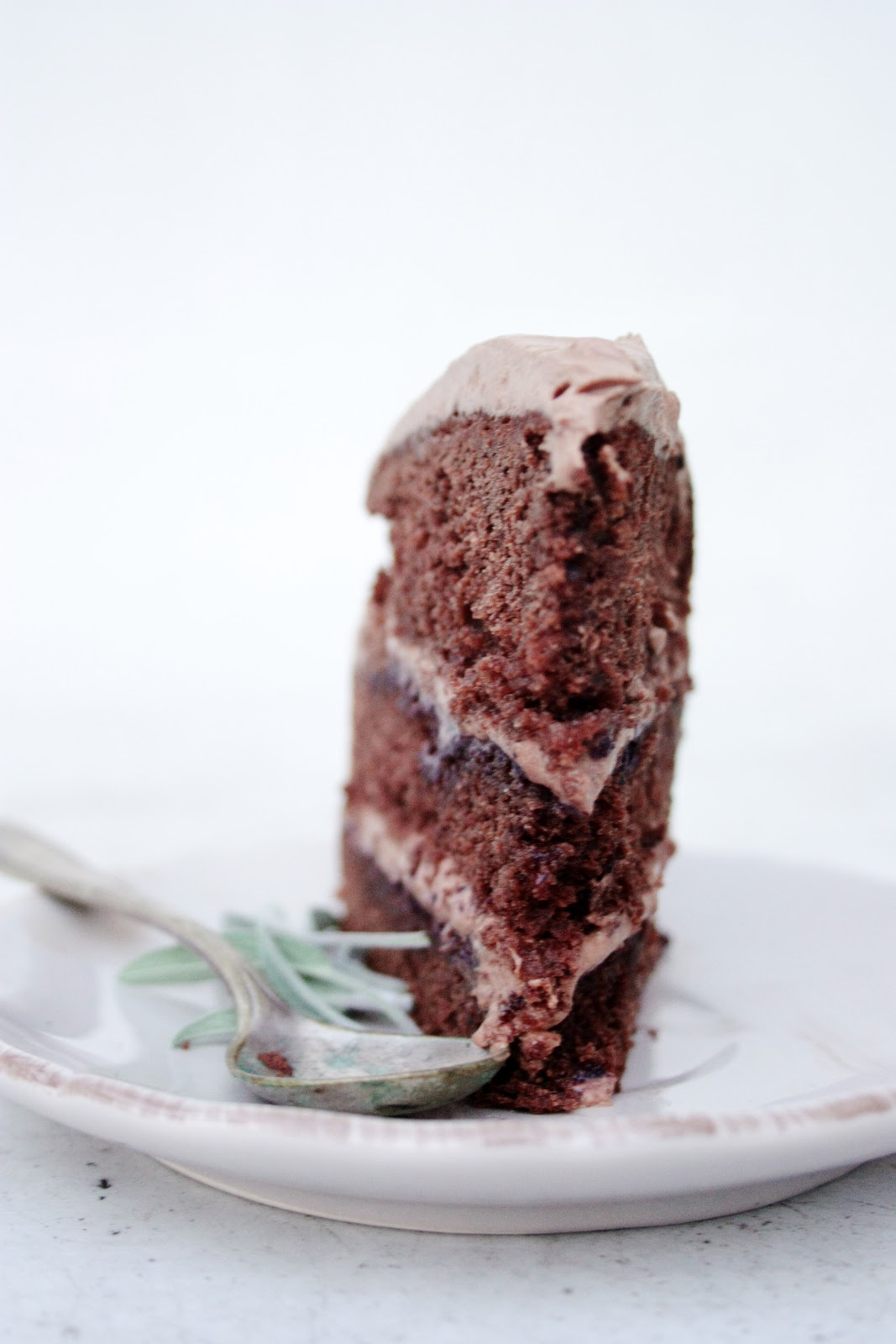 everything is poetry: chocolate layer cake