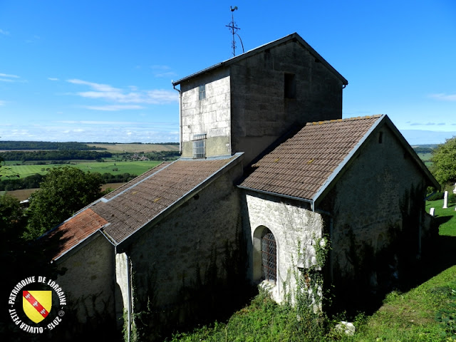 BRIXEY-AUX-CHANOINES (55) - Collégiale Saint-Nicolas
