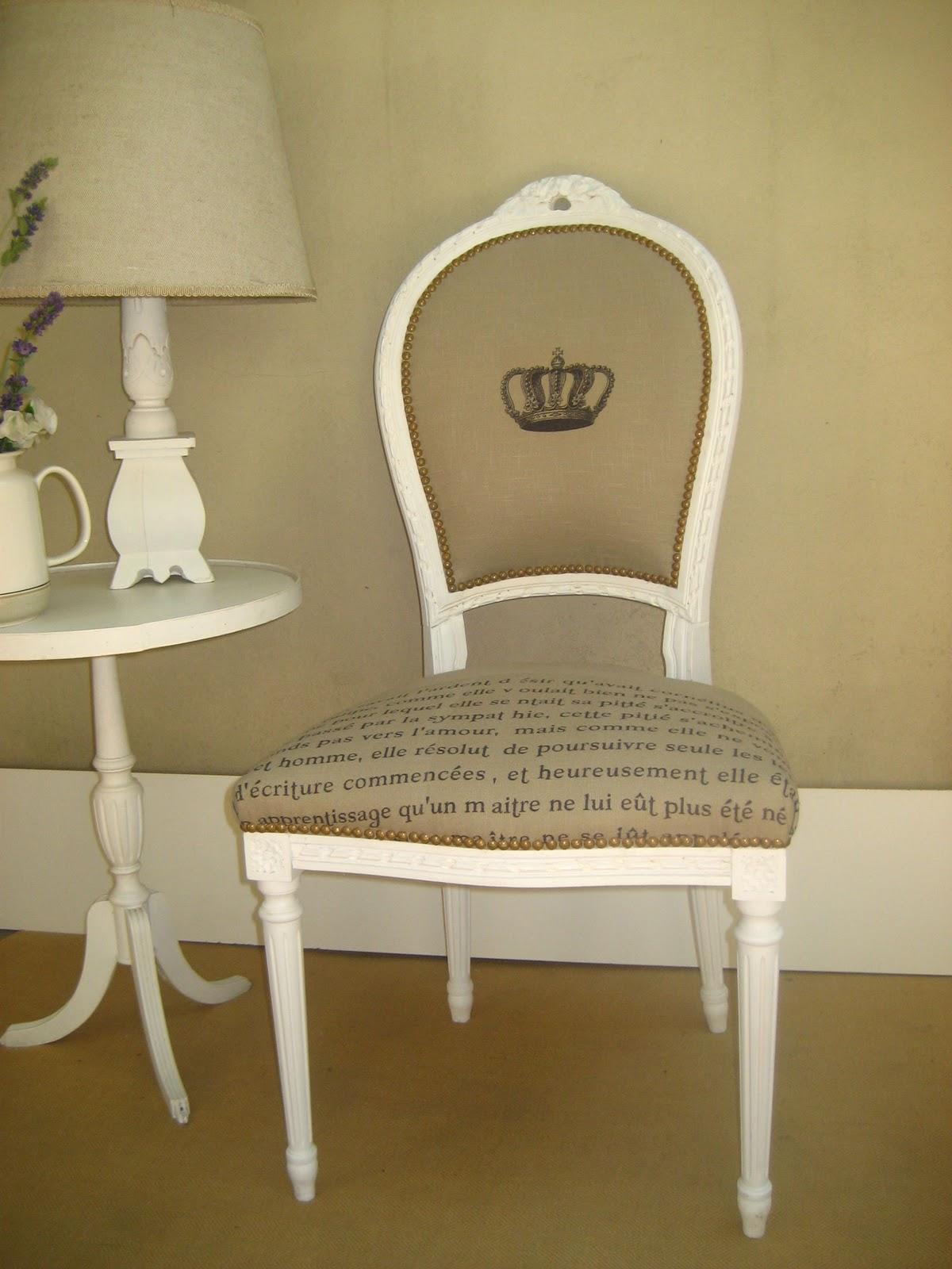 Emma peel deco silla luis xvi vivre la france - Sillas luis xvi baratas ...