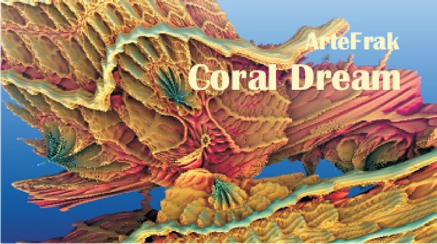 Video ArteFrak Mandelbulb. Coral Dream.