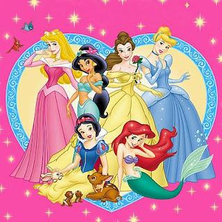 Imagenes de las Princesas de Disney, parte 1