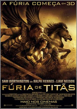 Download - Fúria De Titãs - DVDRip AVI Dual Áudio + RMVB - Dublado