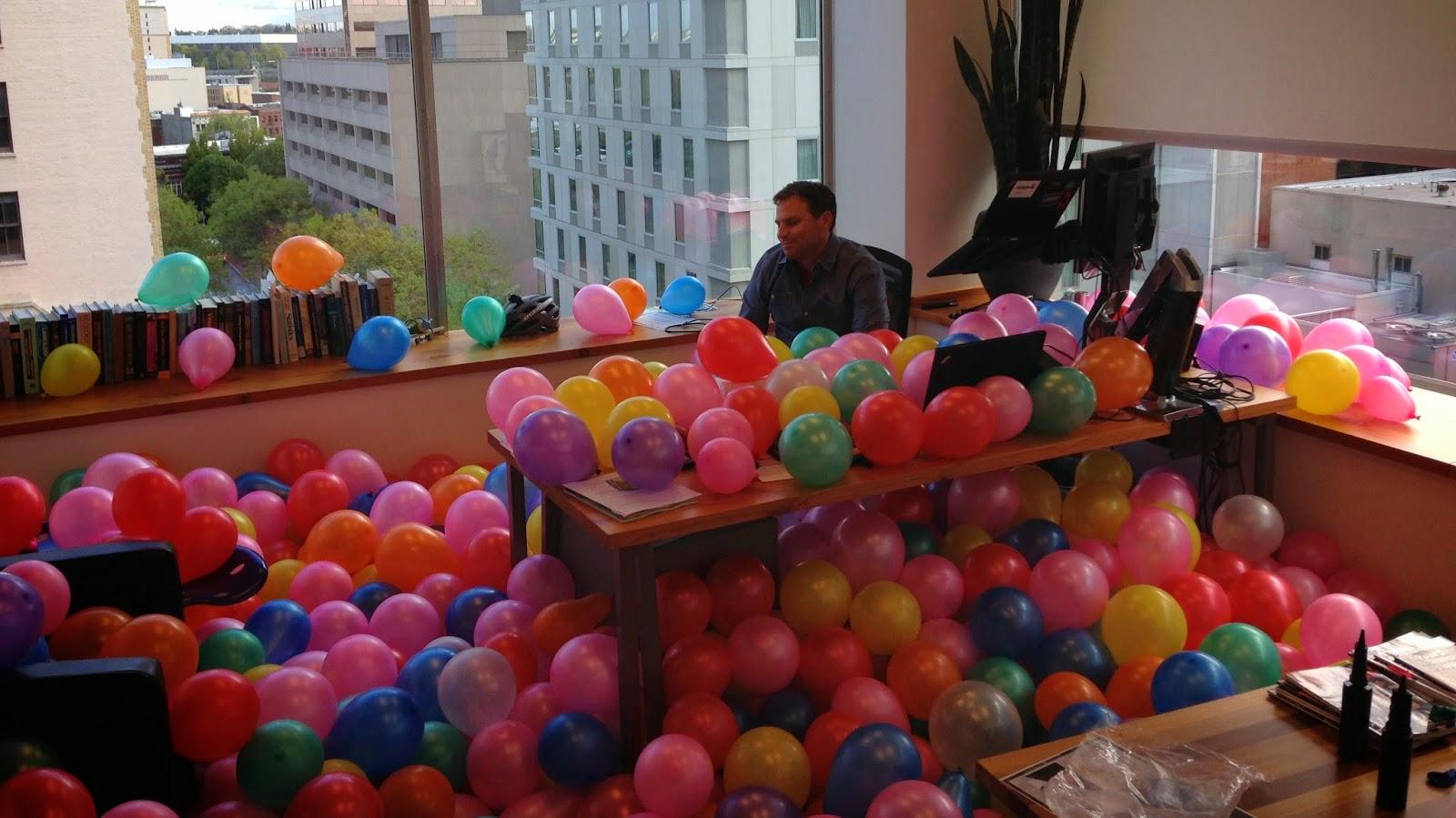 office balloons