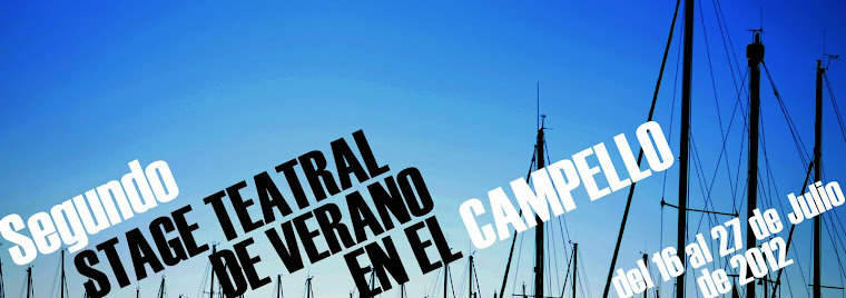 stage teatral en El Campello