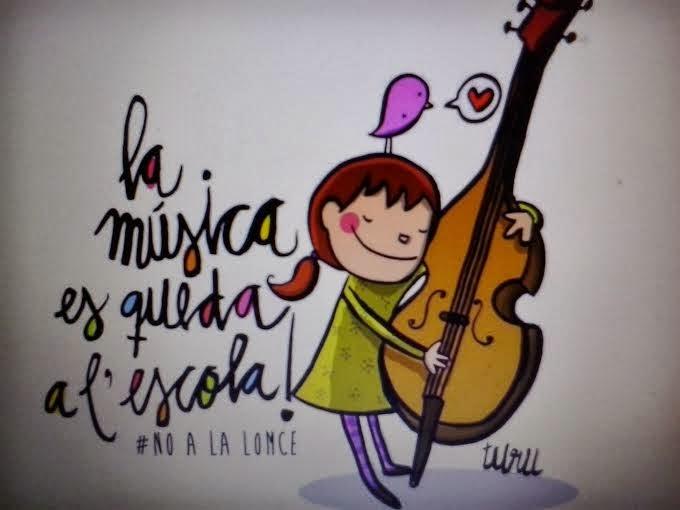 La música es queda a l'escola!