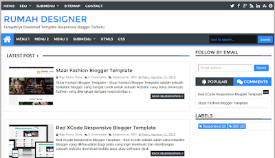 Blogger Lab Responsive Blogger Template