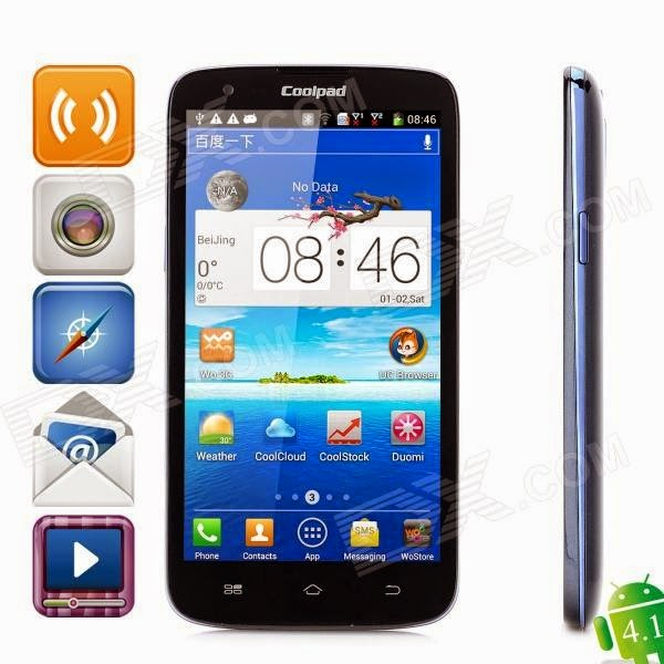 FREE ALL MOBILE SOLUTIONS: Coolpad 7295 Latest Firmware