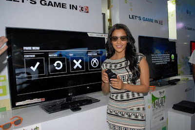 priya anand launches lg 3d game festival actress pics