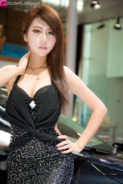 1 Xia Xiaowei - Black Mermaid-very cute asian girl-girlcute4u.blogspot.com