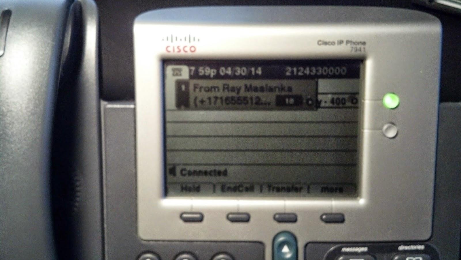 Caller Id Of +17165551212, A Lockport Caller Answered In Nyc, Shown In A  Globalized Format This Previously Displayed As 7 Digits, And Did Not Make  Sense To