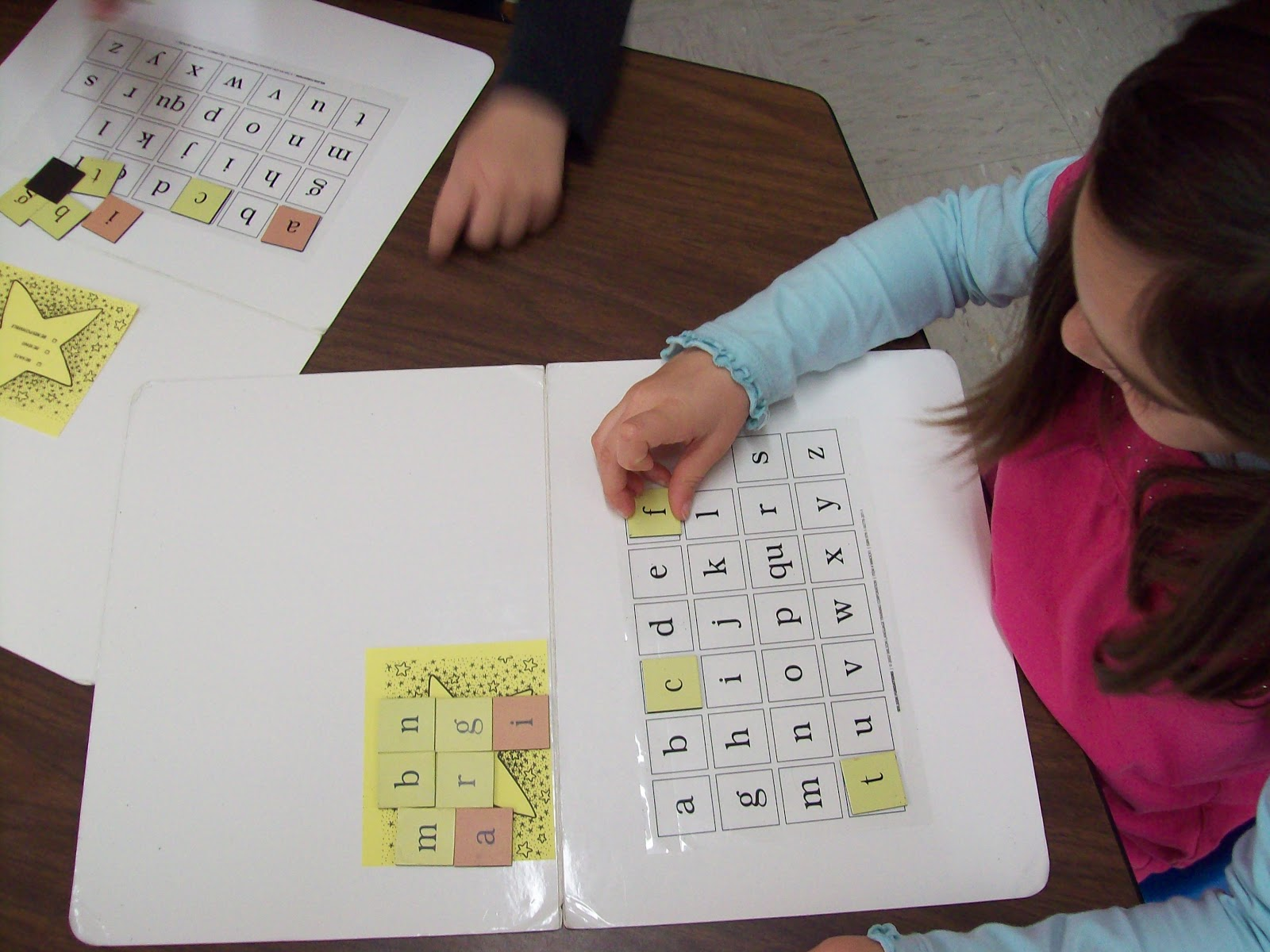 magnetic letter tiles echo find letters is one of many hands on ...