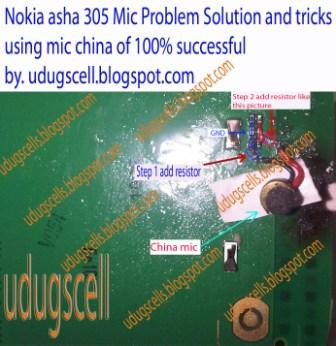 Nokia Asha 305 Mic Problem