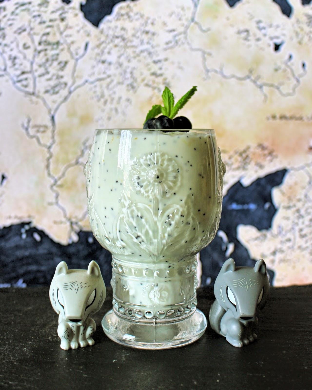 Game of Thrones Milk of the Poppy Panna Cotta