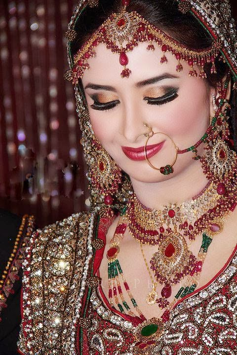 Trendy Indian And Pakistani Makeup Ideas For Young Brides ...