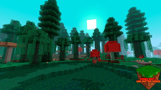 Biomes O' Plenty Mod Minecraft setas gigantes