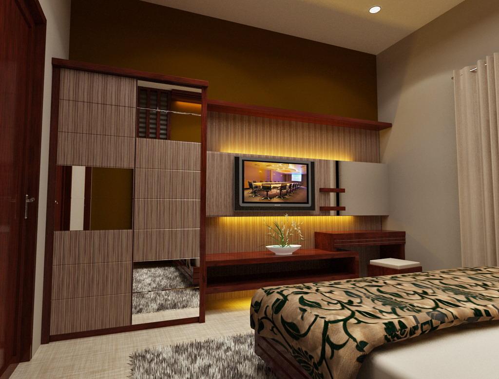 Interior by difasi lestari desain kamar tidur hotel for Dekor kamar tidur hotel