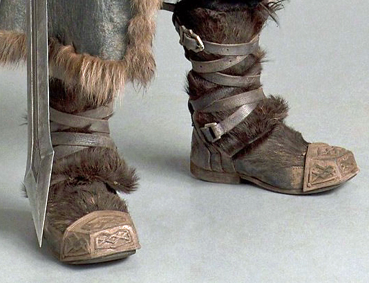 learnsomethingnew the hobbit thorin oakenshield boot caps