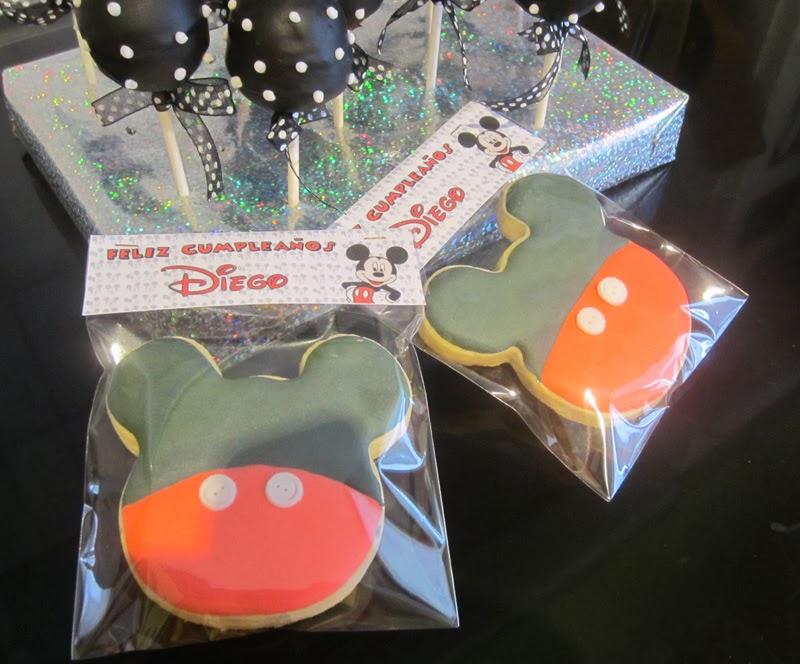 Galletas micky para cumpleaños