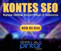 Kontes SEO Web Kursus Online Bersertifikat di Indonesia