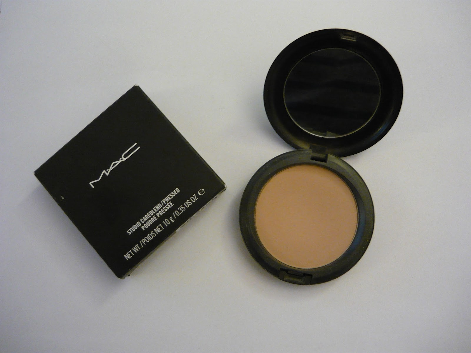 Beauty comes from within: MAC Studio Careblend Pressed Powder