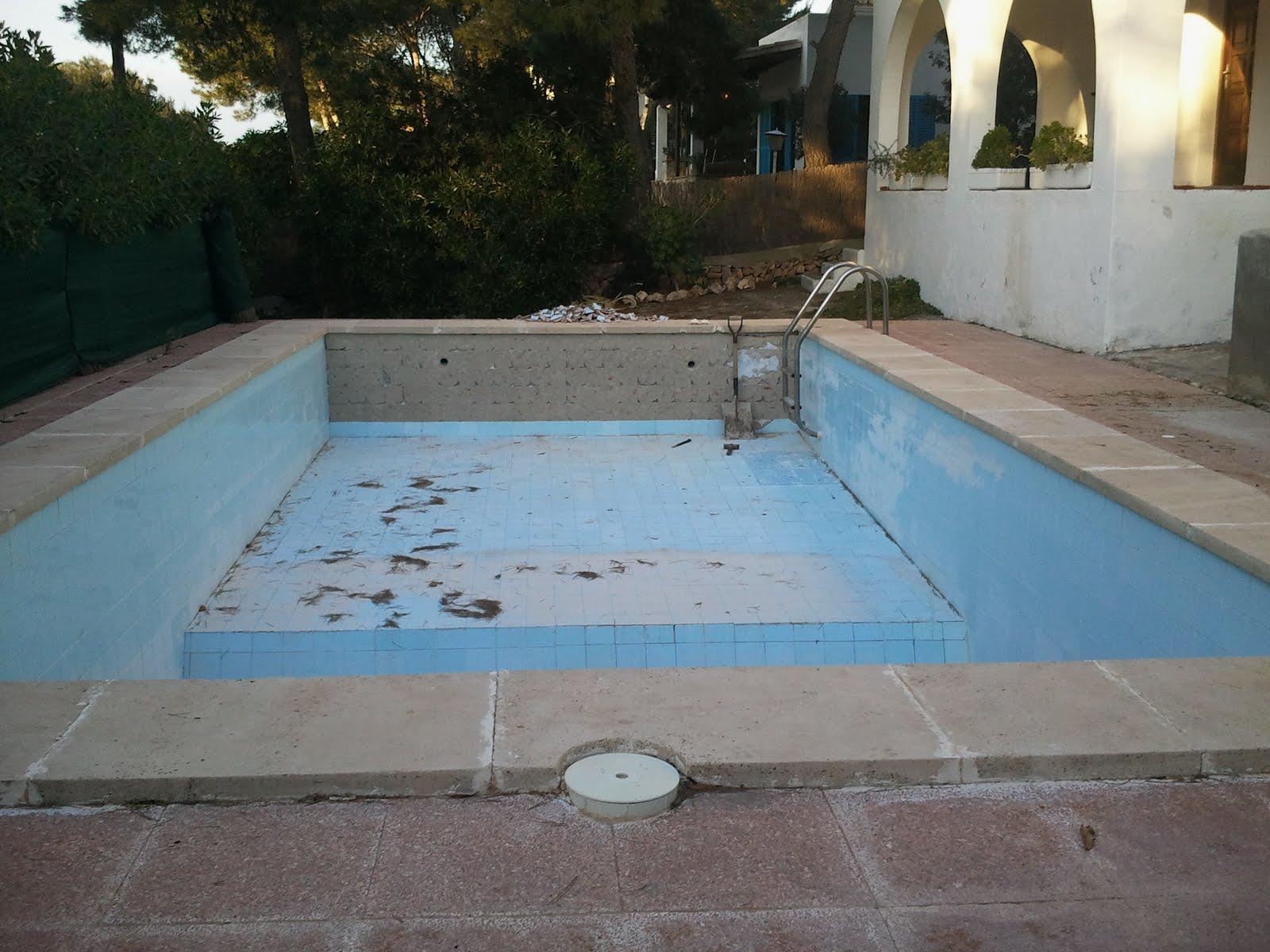 Najibait reforma de piscina for Se puede fumar en piscinas