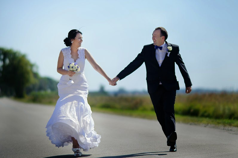 stilinga vestuvinė fotografija