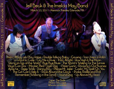 JEFF BECK 2011-03-25 Glendale