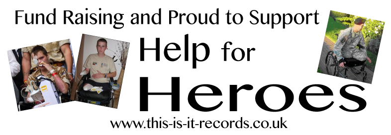 Proud to Support 'Help for Heroes'