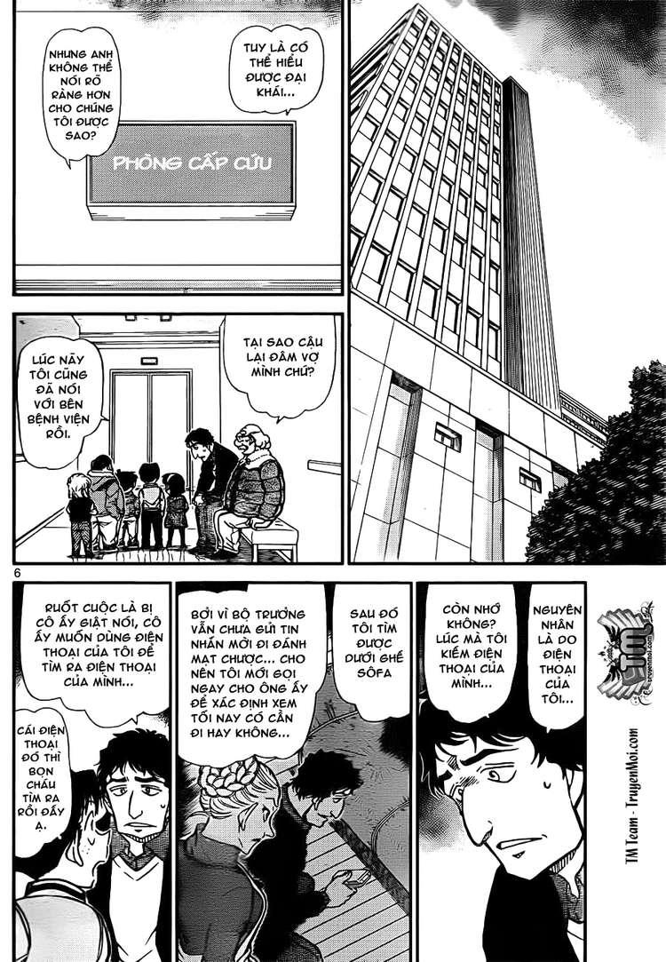 Detective Conan - Thám Tử Lừng Danh Conan chap 802 page 6 - IZTruyenTranh.com
