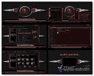 THEME WINDOWS 7 ALIEN HUNTER
