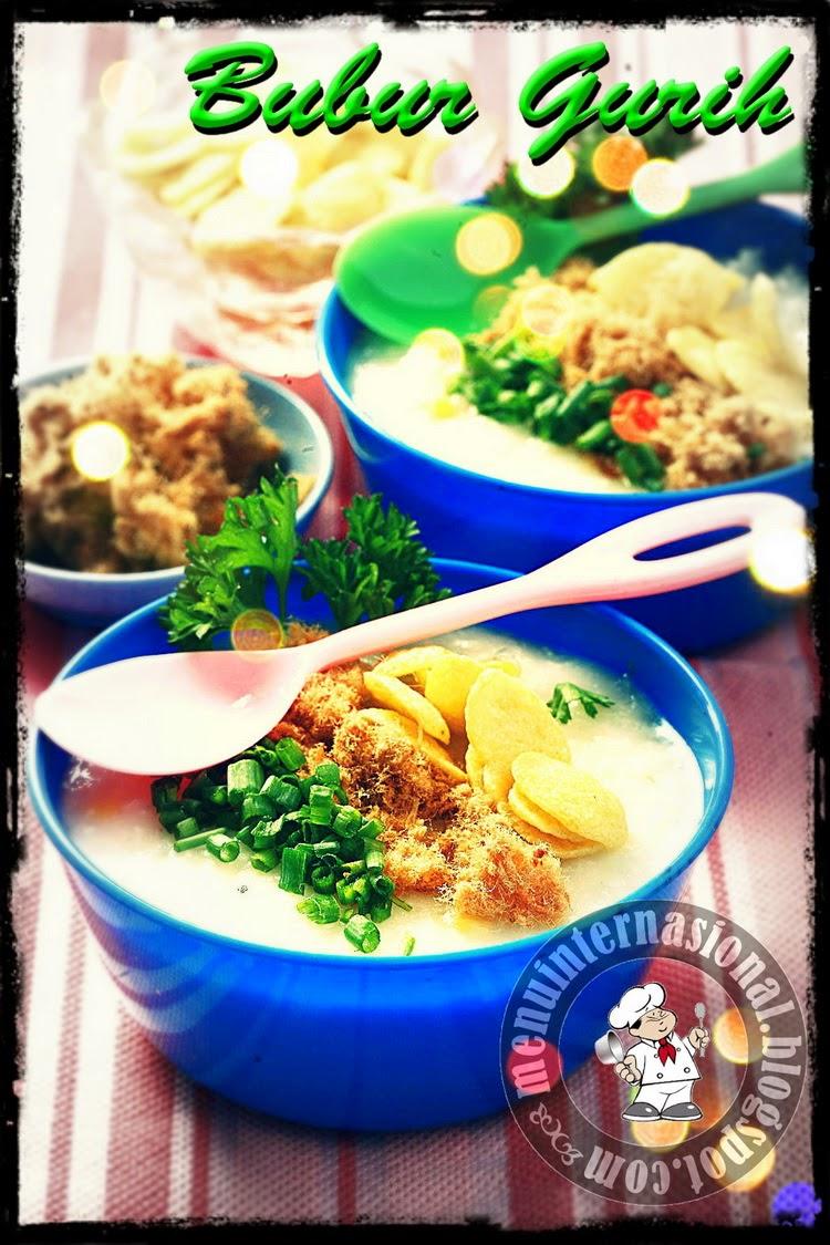 Cara Membuat Bubur Gurih Khas Aceh Spesial Mantap