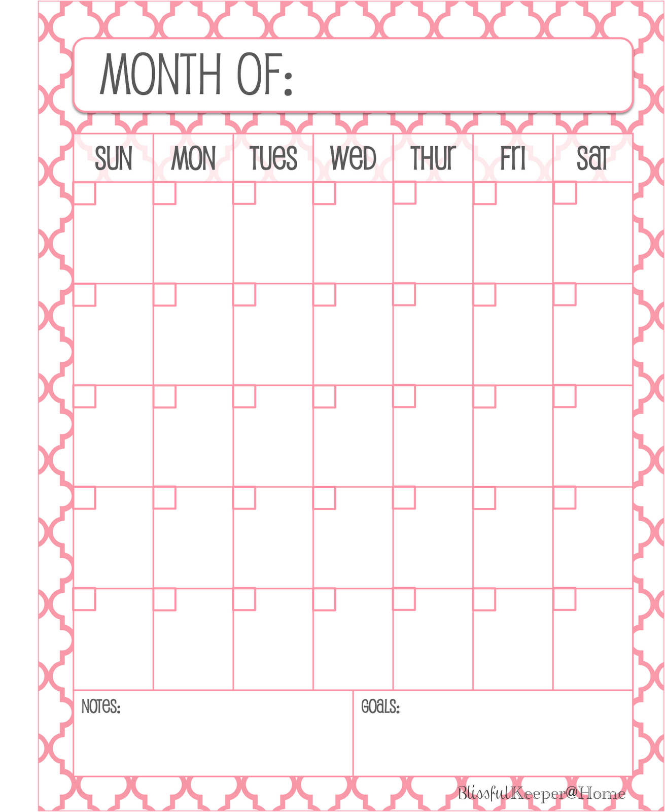Monthly Planner | Search Results | Calendar 2015