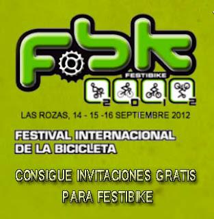 invitaciones gratis Festibike