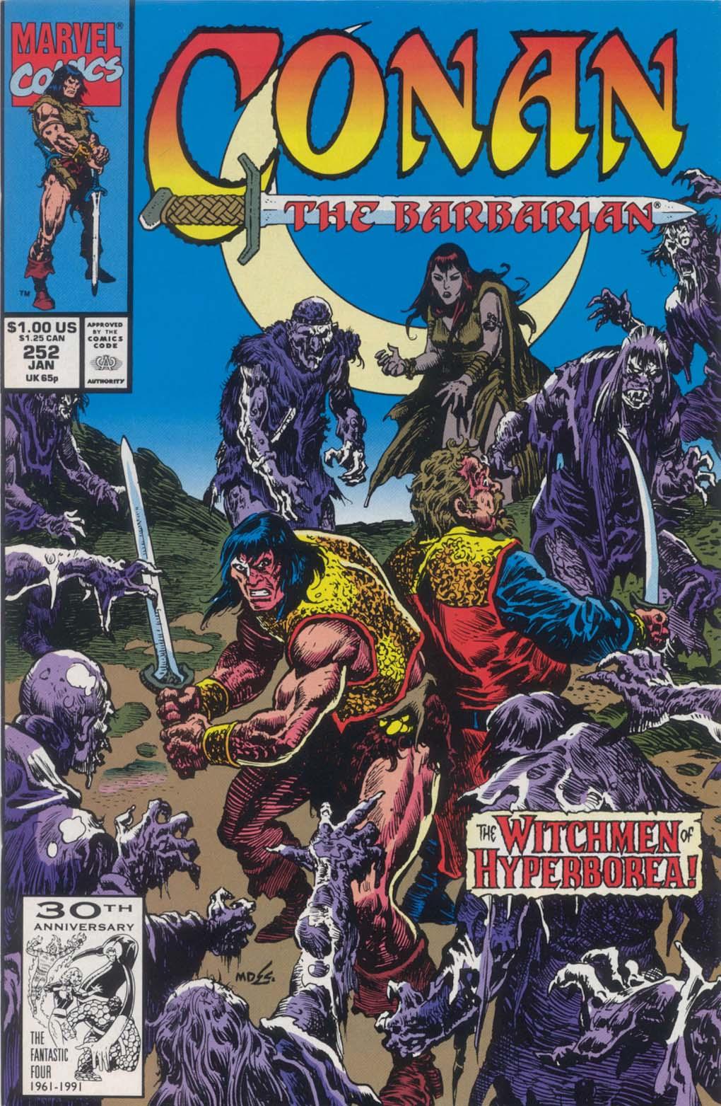 Conan the Barbarian (1970) Issue #252 #264 - English 1