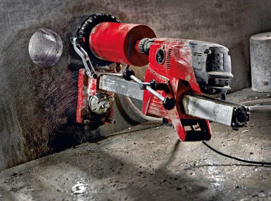 Mesin Coring untuk Dinding