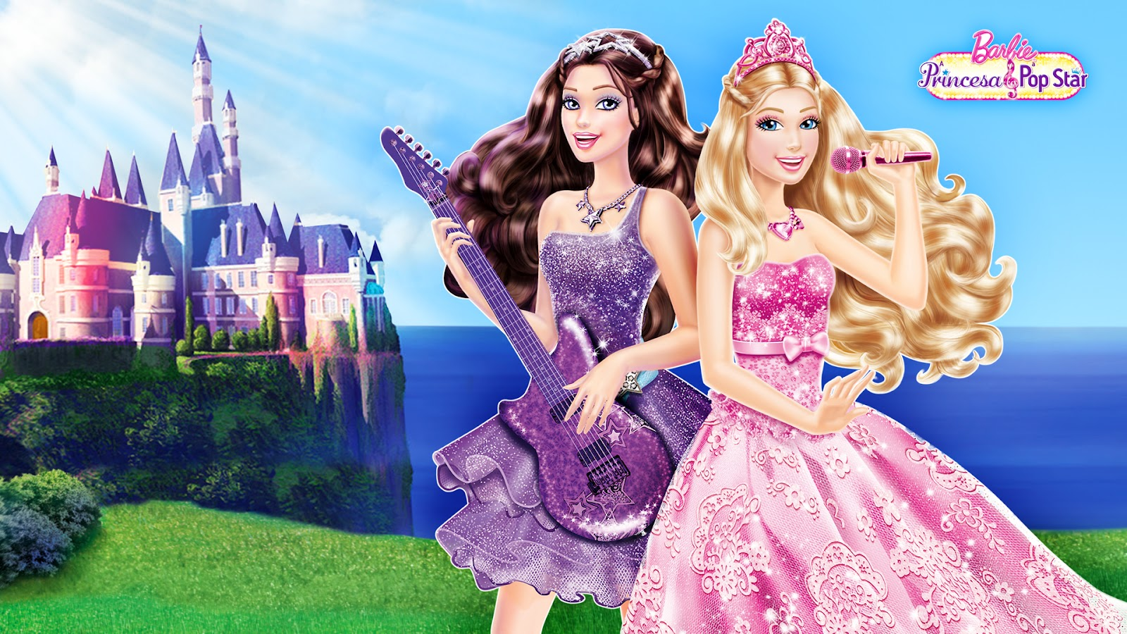 Barbie Princess And Pop Star Wall Decor