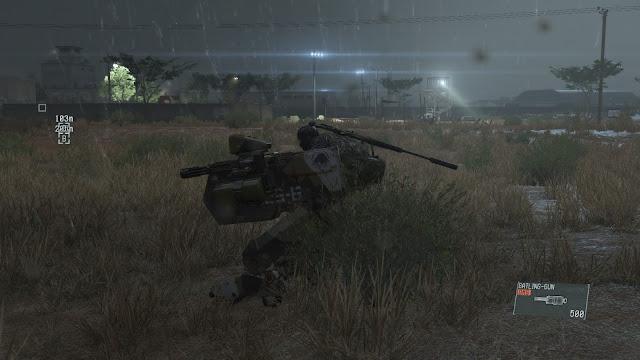 Metal Gear Solid V: The Phantom Pain d walker night