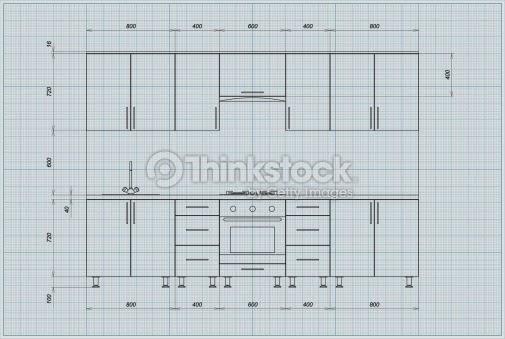 Stunning dimensiones de muebles de cocina photos casas for Dimensiones muebles de cocina