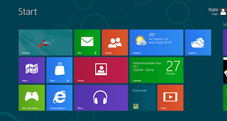 Tampilan metro ui windows 8