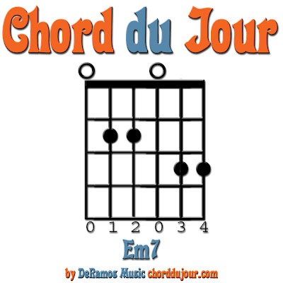Chord du Jour: NEW! Jam Session 205o + Em7 Chord (Guitar)