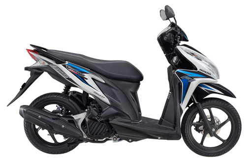 Honda Vario Techno 125 PGM-FI CBS Colors and specs