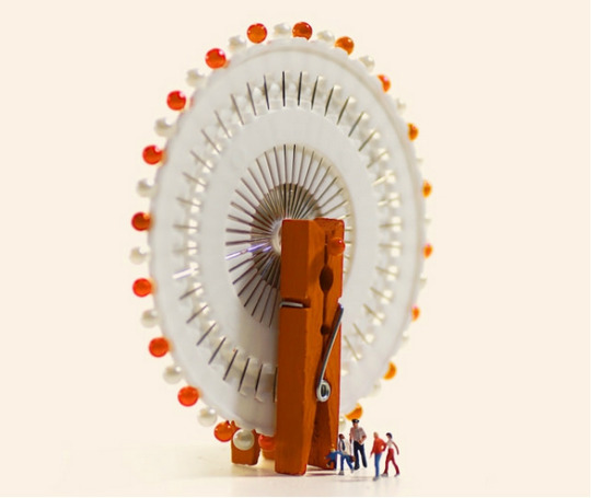 Ferris wheel Tatsuya Tanaka Miniature Calendar