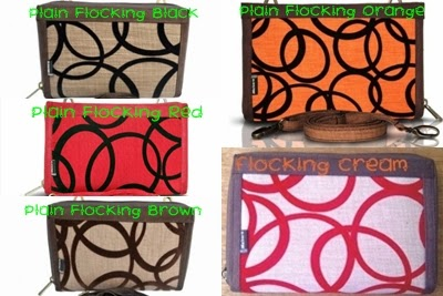 PLAIN MAKARA FLOCKING CREAM, FLOCKING RED, HPO MURAH, MAKARA BOGOR