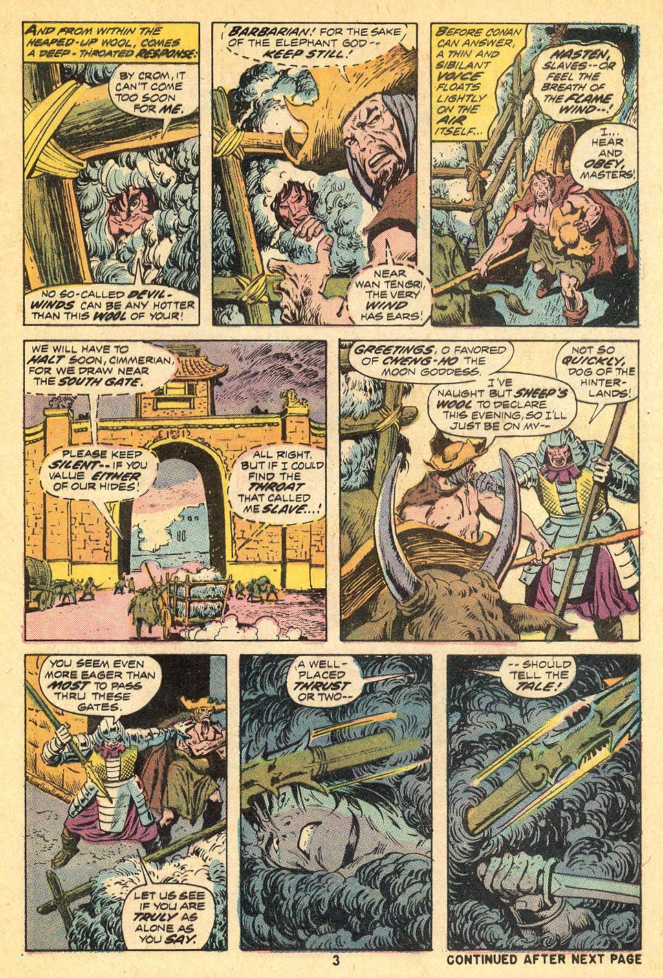 Conan the Barbarian (1970) Issue #32 #44 - English 4