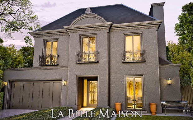 La belle maison usa for Belle facade maison
