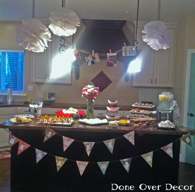 Sweet Beginnings Bridal Shower Buffet